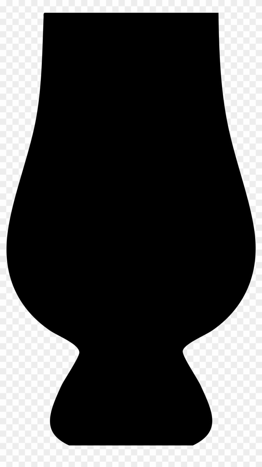 Glencairn Whisky Glass Silhouette - Whisky Glass Silhouette #196104