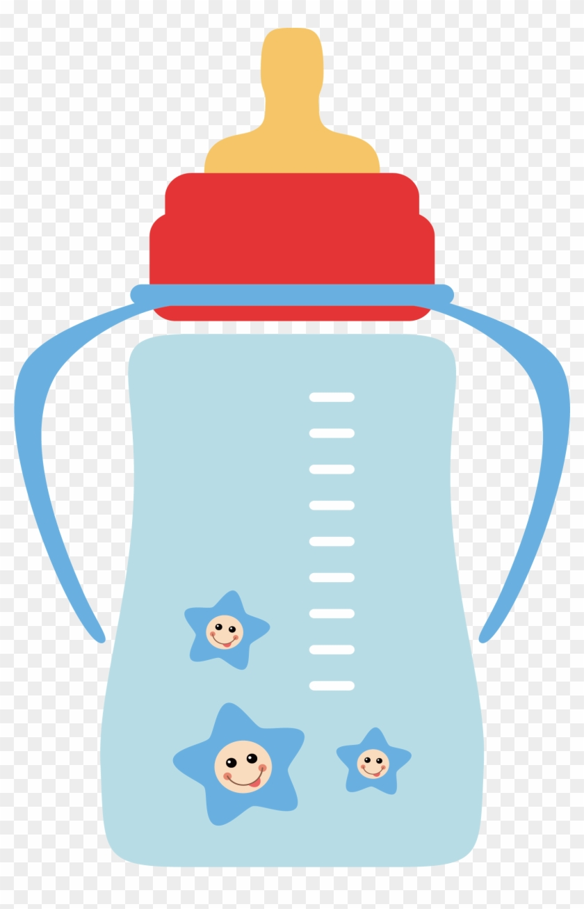 Baby Bottle Infant Milk Clip Art - Baby Bottle Vector Png #196115