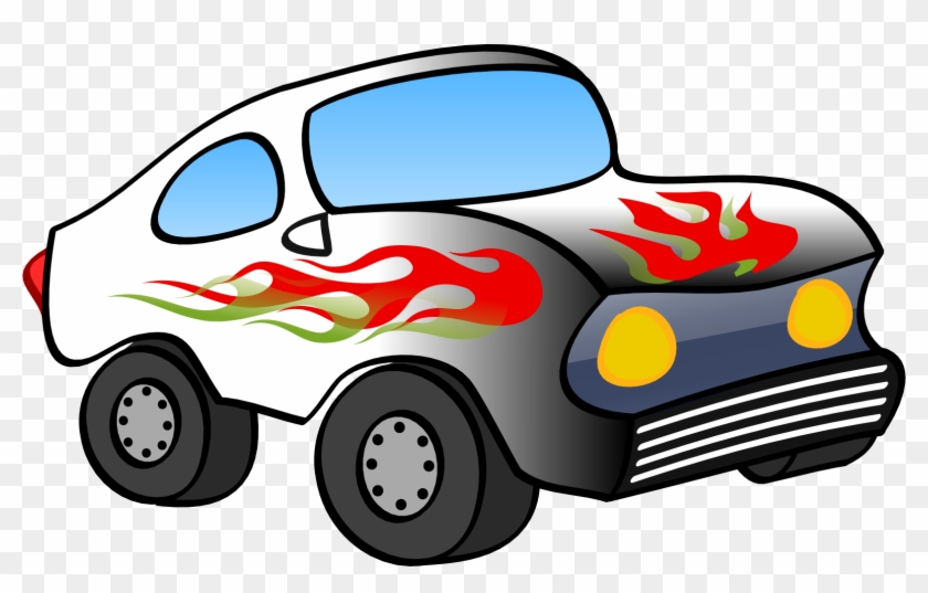 Race Car, Funny, Vehicle, Automobile, Racing Car, Fast, - Cartoon Hot Wheels Cars #196134