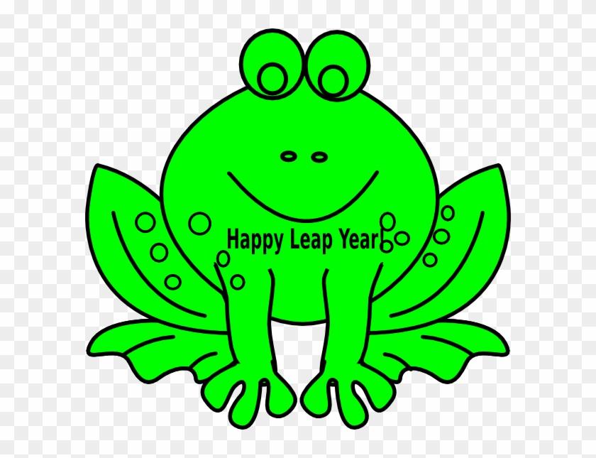 Leap Year Frog Clip Art At Clker Com Vector Clip Art - Leap Year Clip Art #196136