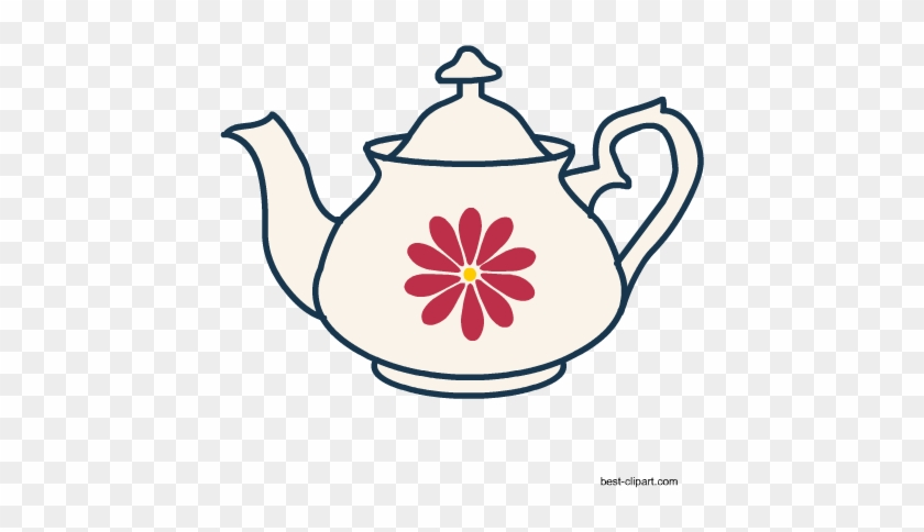 Free Tea Pot Clip Art - Teapot #196151