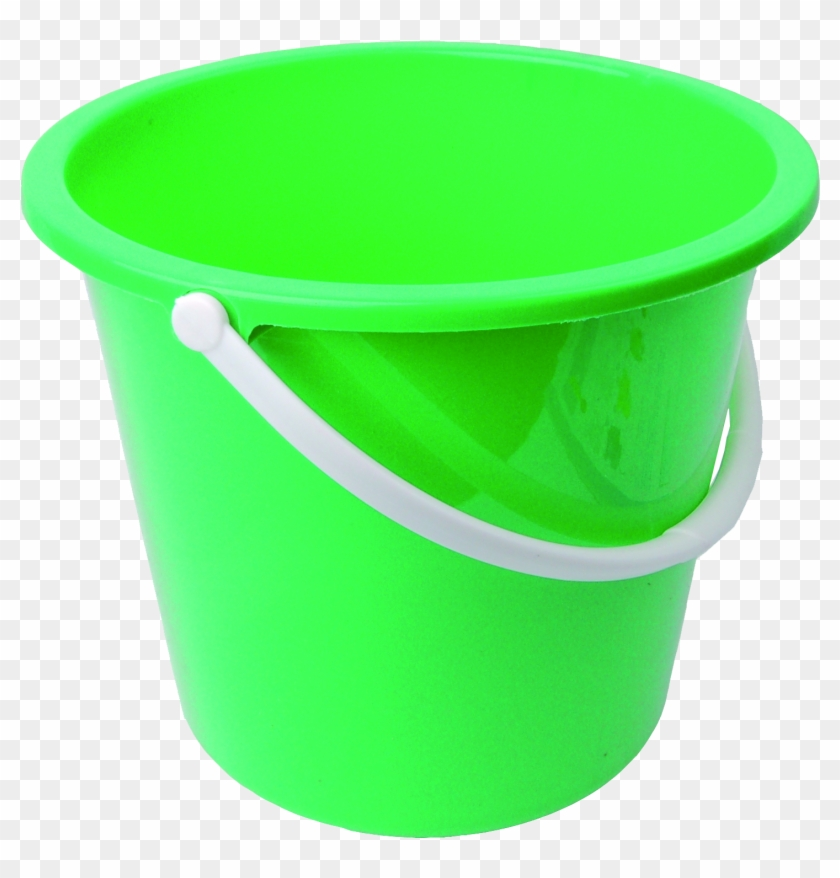 Plastic Bucket Transparent Background - Bucket With No Background #196173