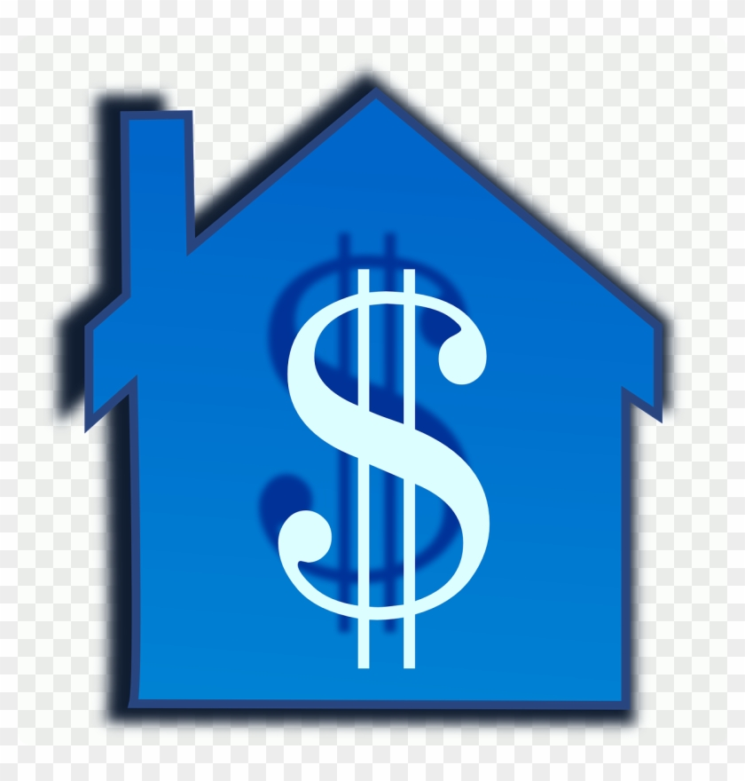 Build Hypothecary Credit, Home, House, Construction, - House Money Clip Art #196178