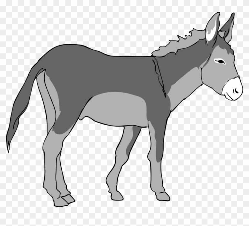 Free To Use Amp Public Domain Donkey Clip Art - Donkey Clipart #196277