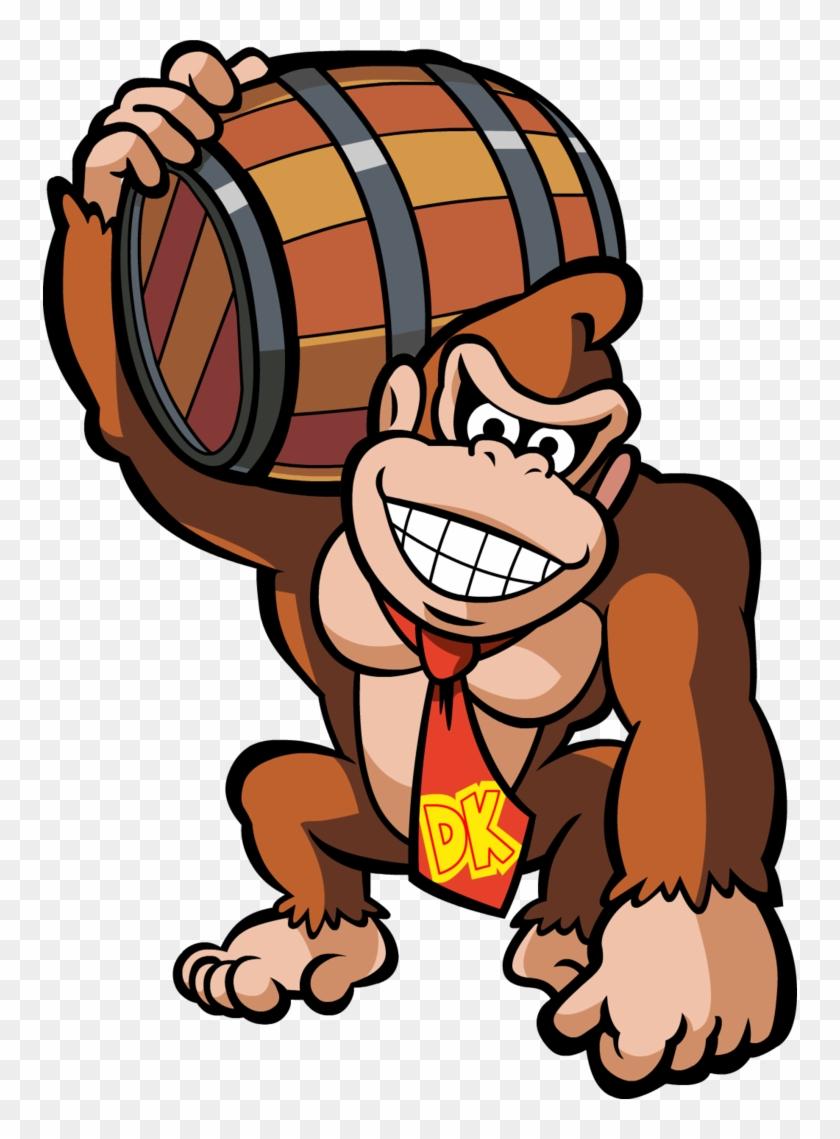 Donkey Kong Vector By Mythogamer On Deviantart - Mario Vs Donkey Kong #196288