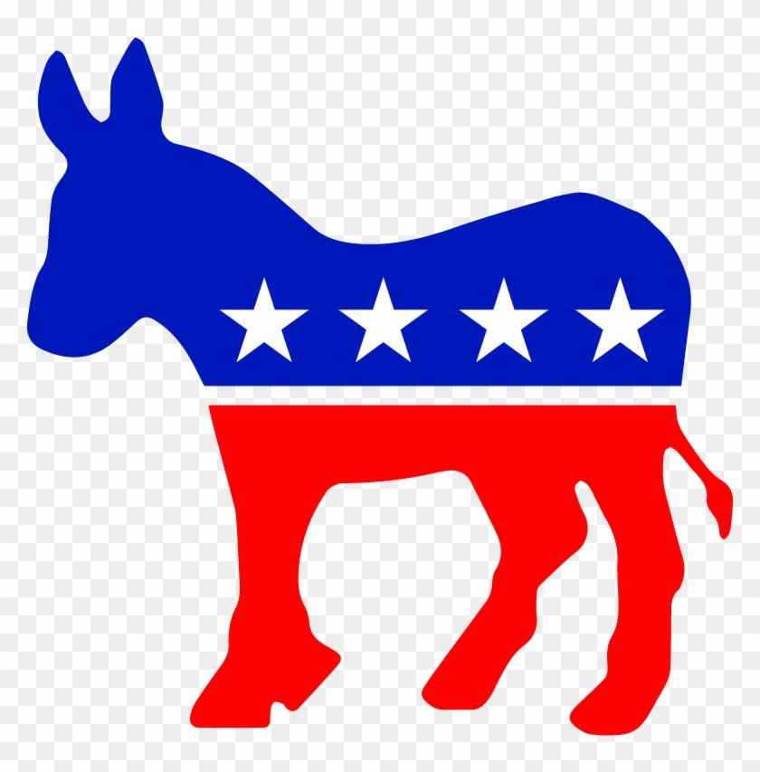 Democratic Party Donkey Vector Logo - Democratic Party Logo #196292