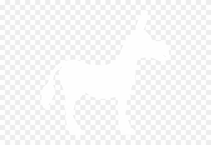 White Donkey Icon - White Donkey Icon #196304