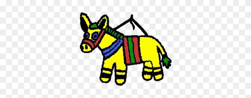 Then The Day Of His Birthday, Roberto Went To The Market - Pinata Clip Art #196338