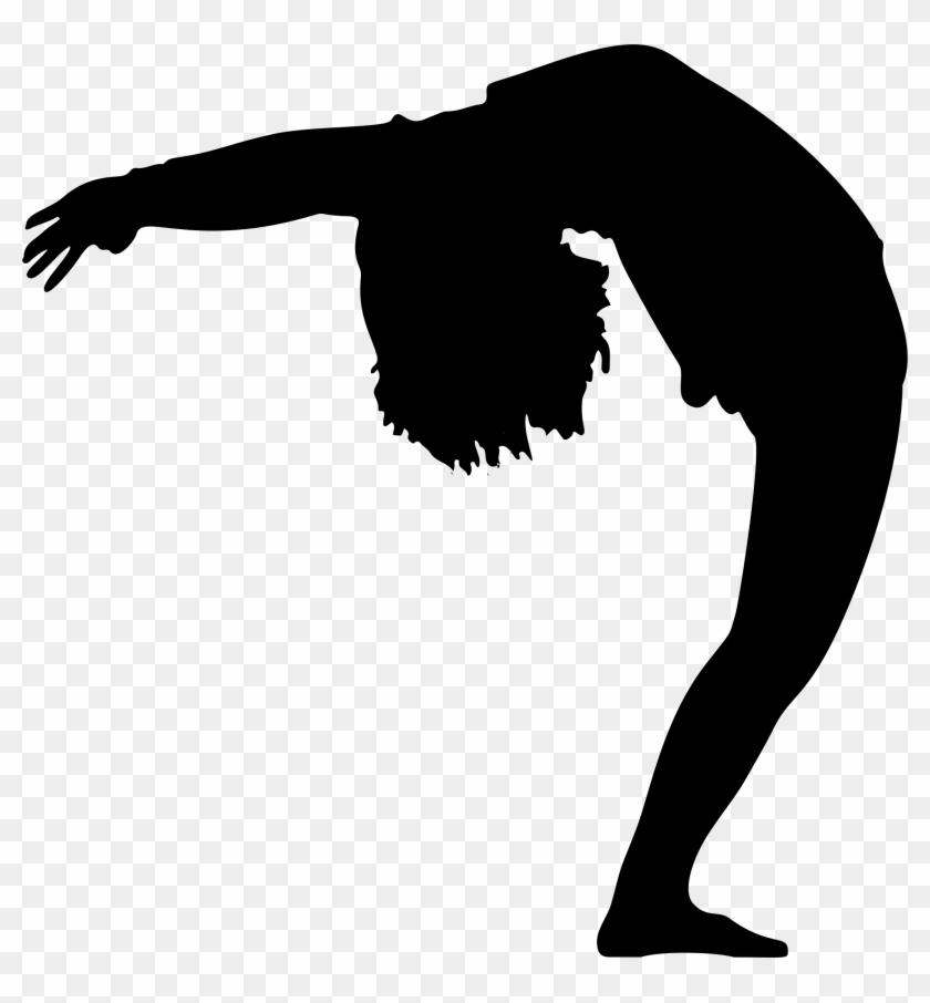 Bending Over Backwards Silhouette - Black Girl Bent Over Pretty #196354