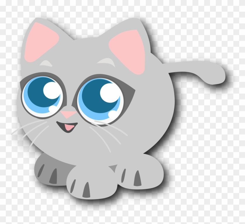 Big Image - Cute Baby Cats Clipart #196390