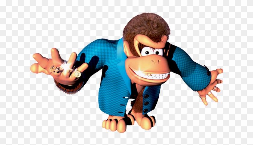 Swanky Kong Artwork - Donkey Kong Swanky Kong #196396