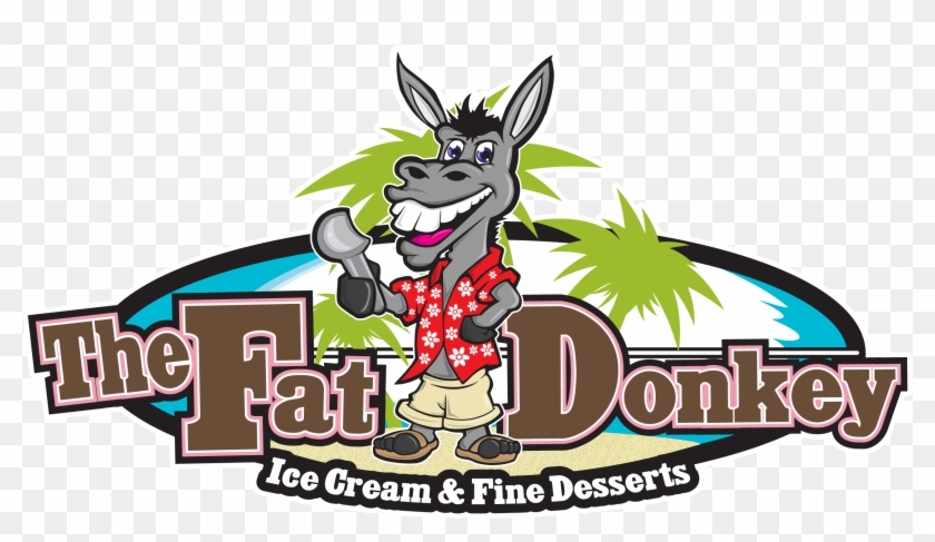 the fat donkey ice cream and fine desserts free transparent png