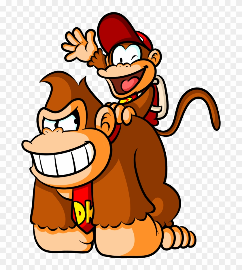 Donkey Kong And Diddy Kong By Captain-regenold - Donkey Kong And Diddy Kong #196441