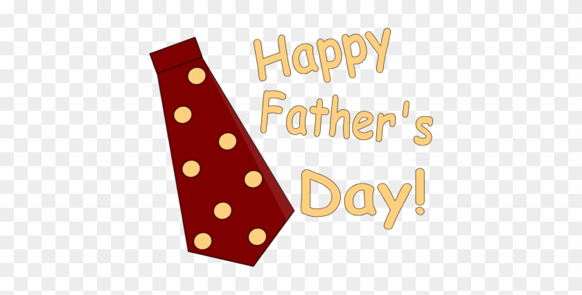 Happy Father ' S Day Tie Clipart - Happy Fathers Day Png #196707