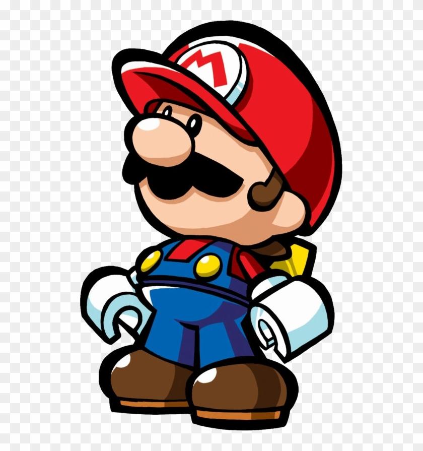 One Of The Mini Mario Toys From Nintendo's 2006 Ds - Mario Vs Donkey Kong Mini Mario #196741