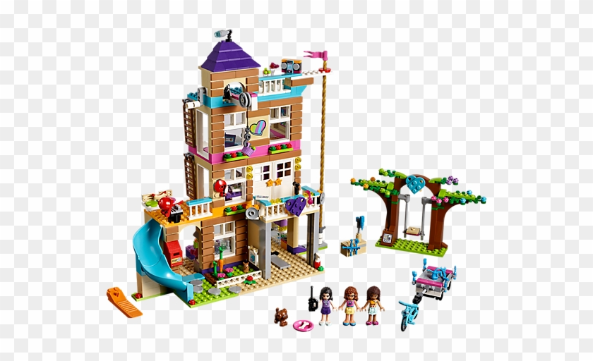 There Are No Rules For The Girls In The Friendship - Lego Friends House Sets #1185561