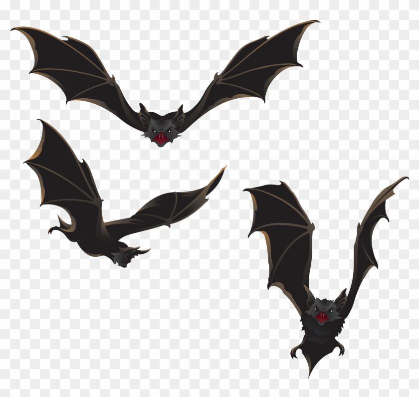 Bat Halloween Clip Art - Vampire Bat Shower Curtain #1186338