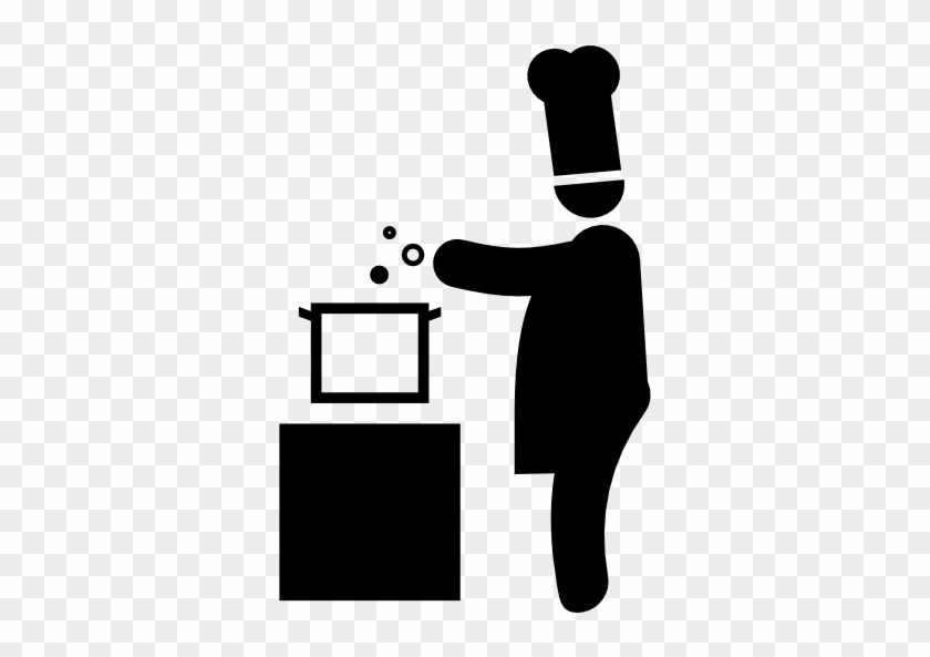 Chef Cooking Free Icon - Chef Cooking Icon #1186845