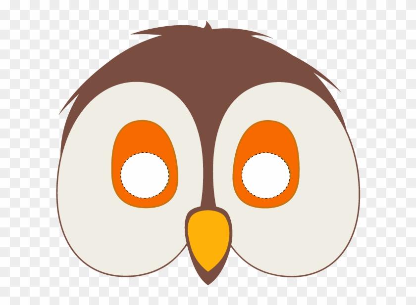 Mask Printable Printable Owl Mask Template Masks - Bird Face Mask Printable #1188787
