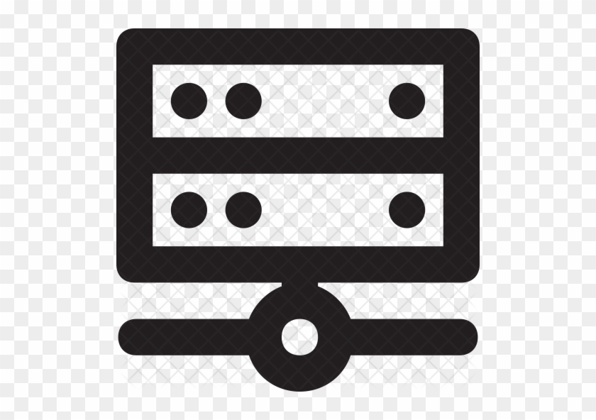 Server Icon - Row Vector - Free Transparent PNG Clipart
