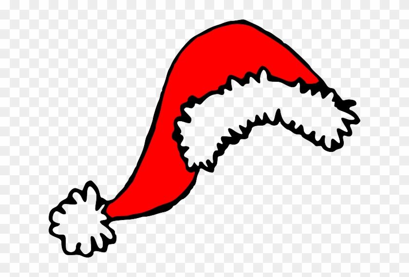 Christmas, Holiday, Xmas, Santa Claus, Cap - Clip Art Santa Hat #1189657