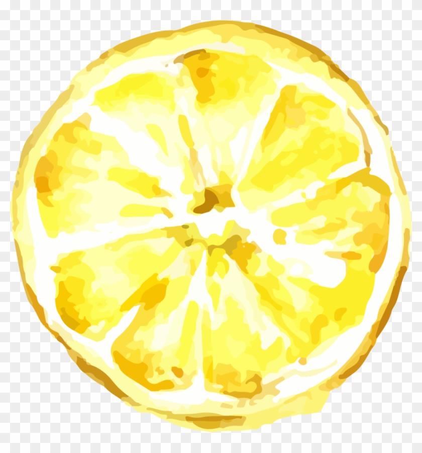 Lemon Drawing Icon - Lemon Png Cartoon #1190115