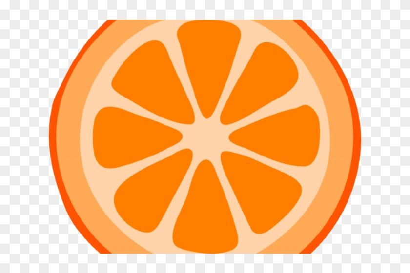 Citrus Clipart Orange Slice - Lime Slice Clipart #1190319