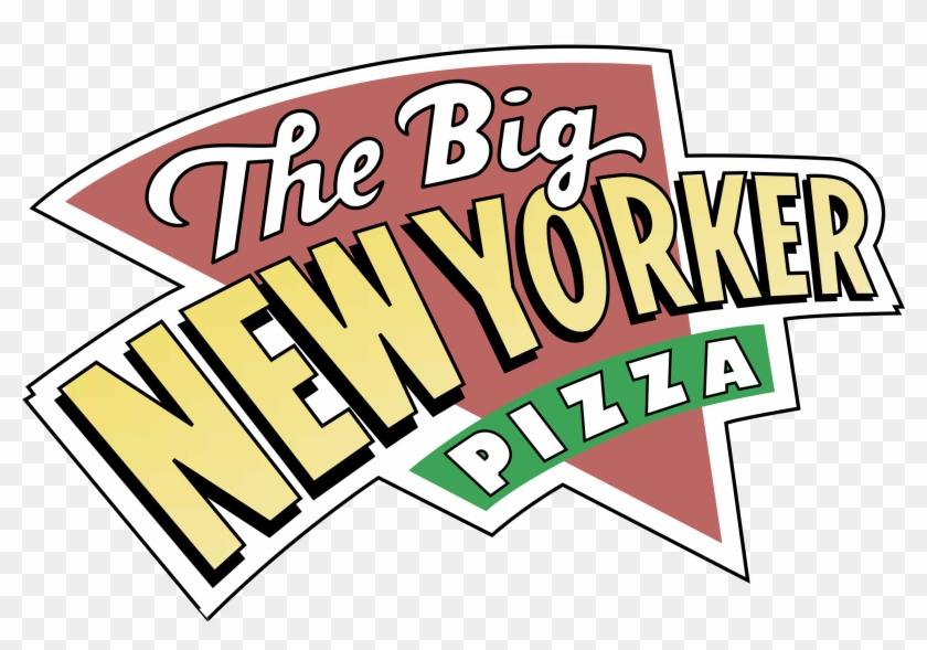 Big New Yorker Pizza Logo Png Transparent - Big New Yorker Pizza #1191072