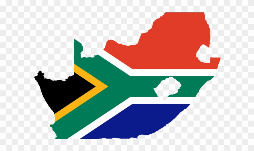 Sa And Zimbabwe Strengthen Relations - South Africa With Flag #1191326