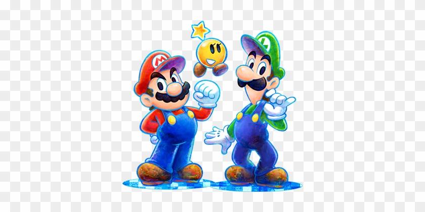 Luigi Clipart Maro Mario E Luigi Dream Team Art Free