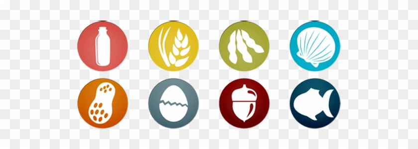 Dairy Allergy - Food Allergies Icon Png - Free Transparent