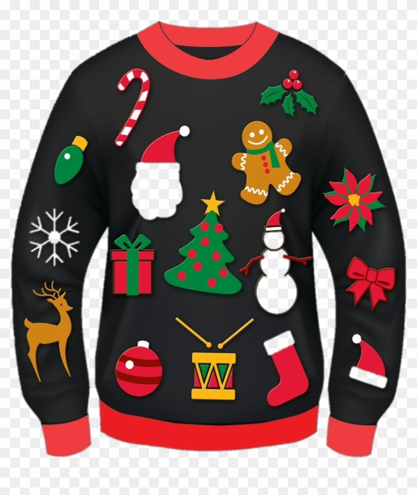 Let's Celebrate On Tuesday, December 19 Wear Your Ugliest - Christmas Ugly Sweater Clipart #1191904