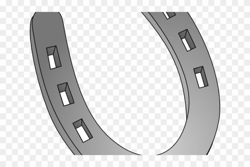 Horseshoe Clipart Silver Horseshoe - Horseshoe Clip Art #1193042