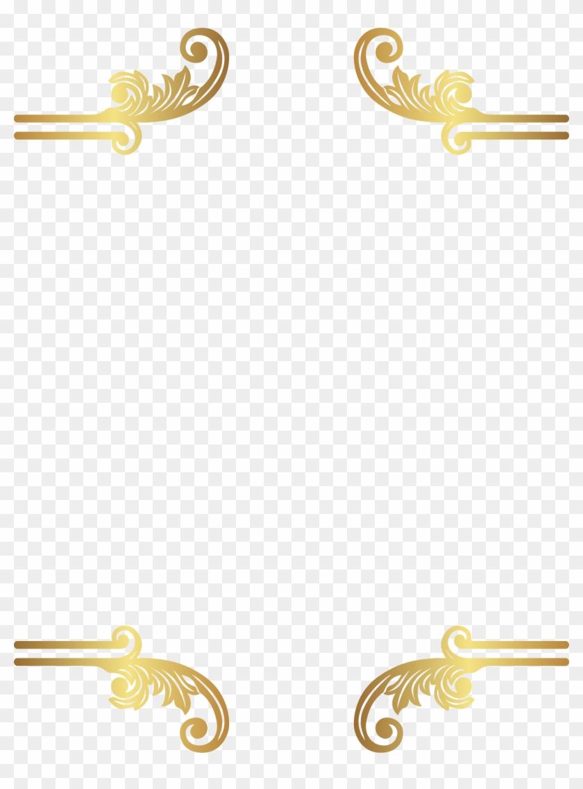 Decorative Border Clipart Transparent Free Clipart - Clip Art #1194261