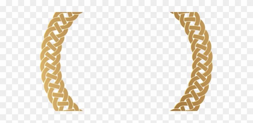 Appealing Round Picture Frame On Golden Border Transparent - Golden Circle Border Transparent Png #1194300