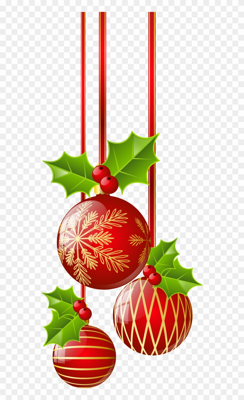 Christmas Red Ornaments Png Clipart Is Available For Christmas Ornament Border Clipart Free