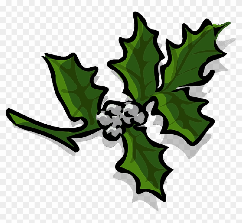 Christmas Holly Clipart Png.Xmas Holly Clip Art Free Transparent Png Clipart Images