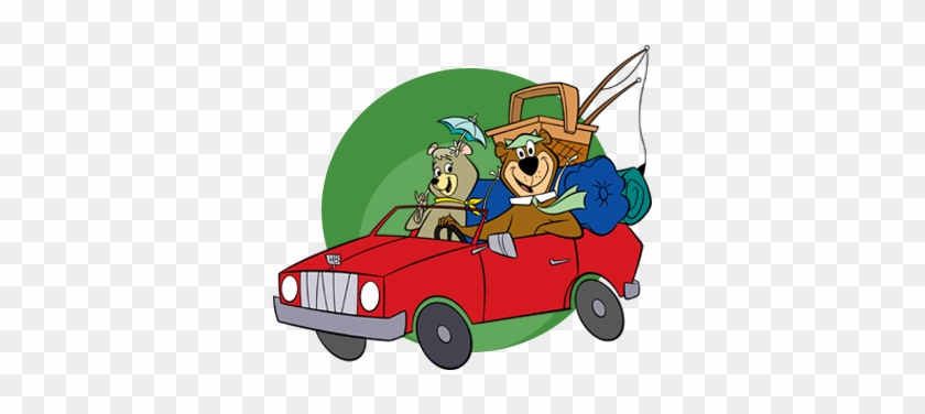 Cindy Yogi In Car Yogi Bear S Jellystone Park Camp Resorts Free Transparent Png Clipart Images Download