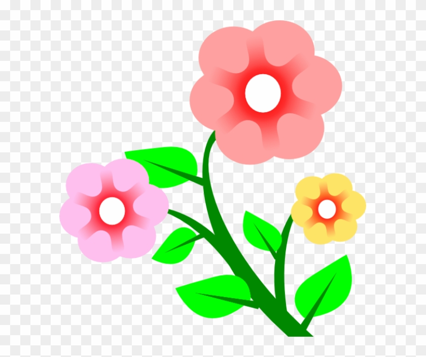 Petal Clipart Gambar Bunga Gambar Bunga Kartun Cantik Free Transparent Png Clipart Images Download