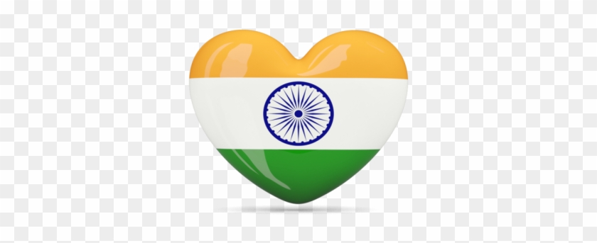 Heart Icon Illustration Of Flag Of India Png Images - Zazzle India Flag Keychain #1196645