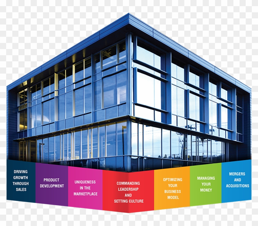 Edi Has Created A Business System To Effectively Run - Modern Square Office Building #1196990