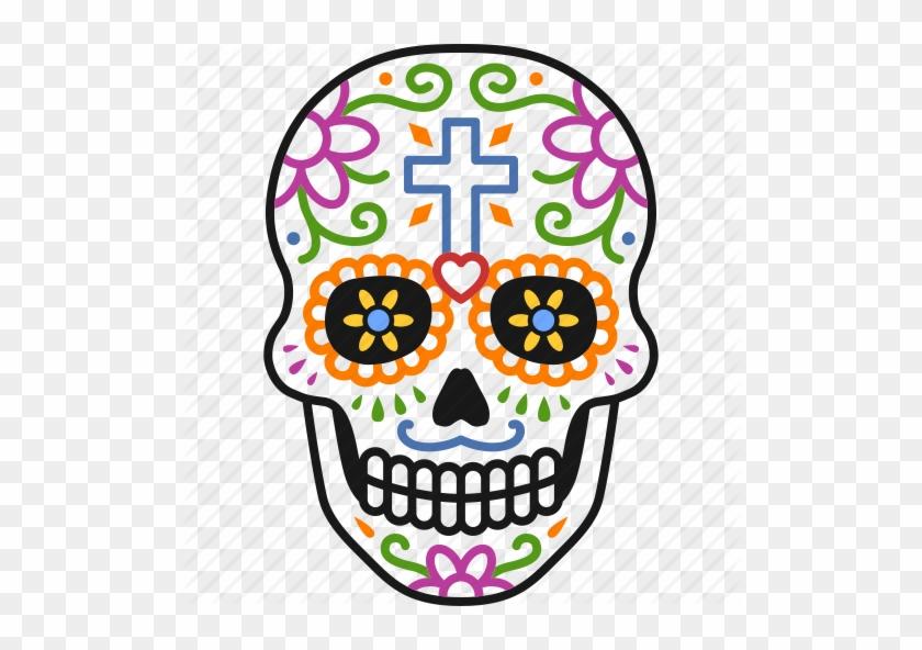 Royalty Free Day Of The Dead Clip Art, Vector Images - Calaveras Dia De Muertos #1197002