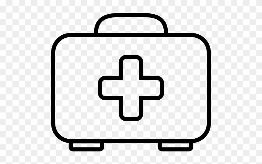 First Aid Bag Outline Free Icon - Frasco De Medicina Para Colorear ...