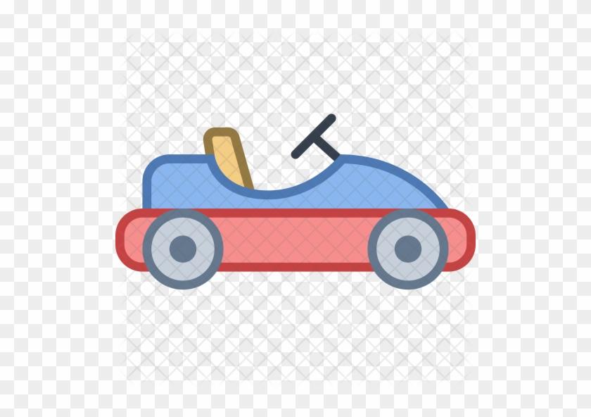 Go Kart Icon - Go Kart Clip Art #1197502