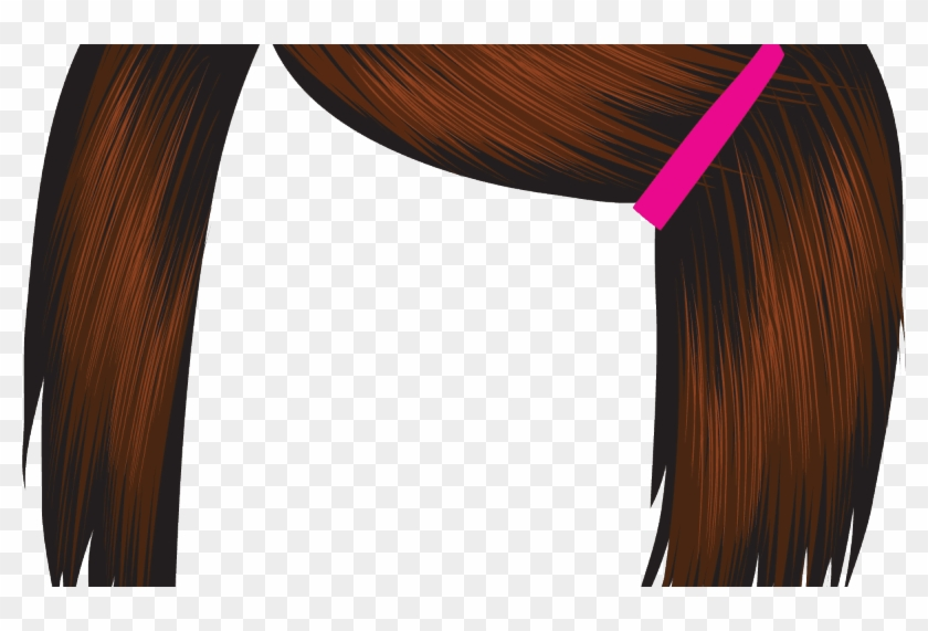 Red Hair Clipart Funny Hair Pencil And In Color Red - Red #1197736
