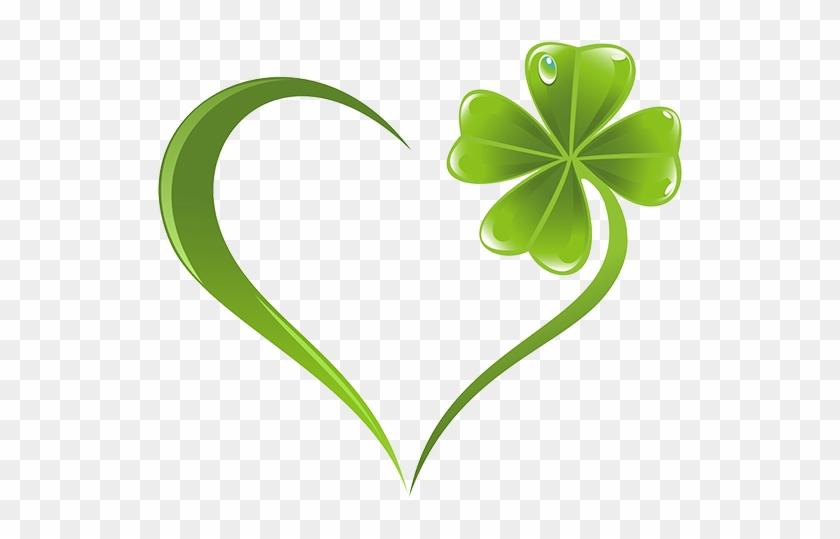Four Leaf Clover Tattoo Heart Shamrock 4 Leaf Clover Heart Free Transparent Png Clipart Images Download