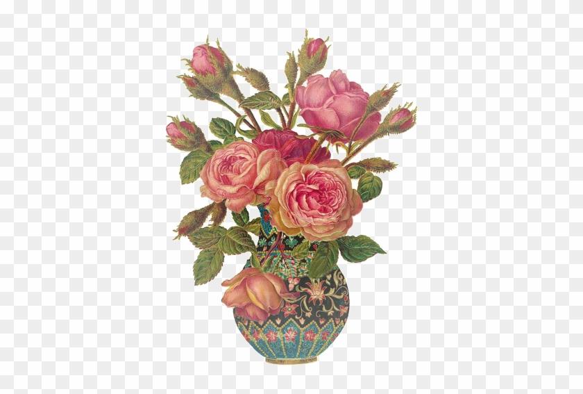 Flower Bouquet Rose Vintage Clothing Clip Art