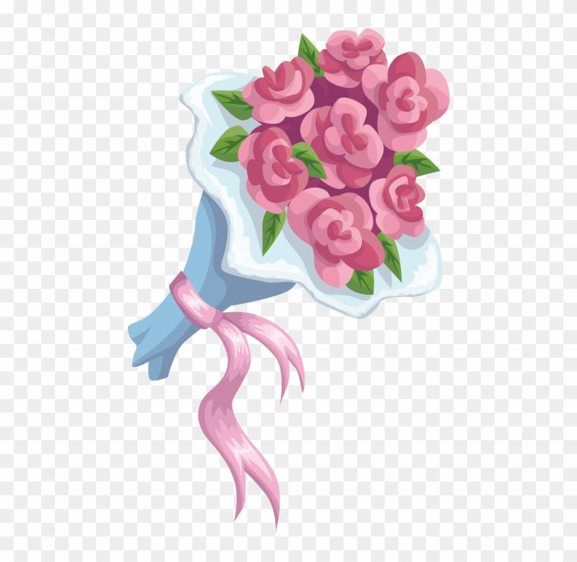 Wedding Invitation Bridegroom - Garden Roses #1199058