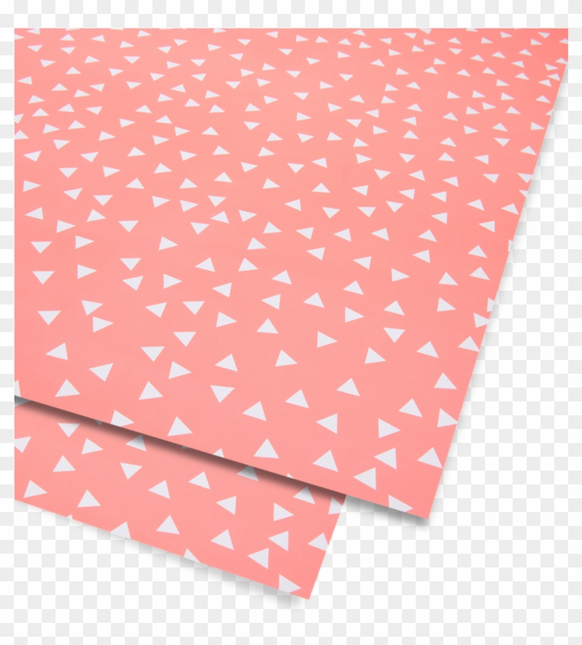 Neon Orange Triangle Wrap - Construction Paper - Free