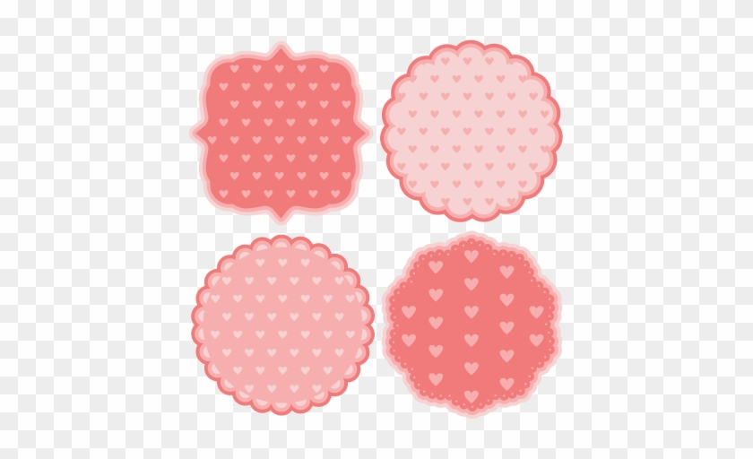 Polka Dot Heart Backgrounds Svg Scrapbook Cut File Scalable Vector Graphics Free Transparent Png Clipart Images Download